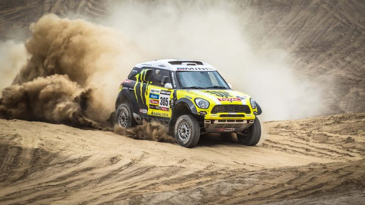 Dakar Rally race